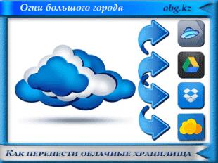 Как перенести облачные хранилища