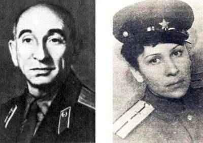 Александр Мазовер и Дина Волкац