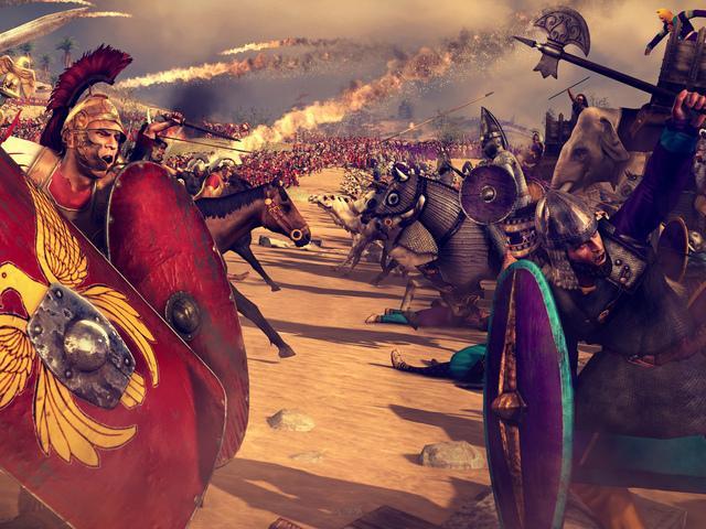 Компьютерные игры, Rome Total War