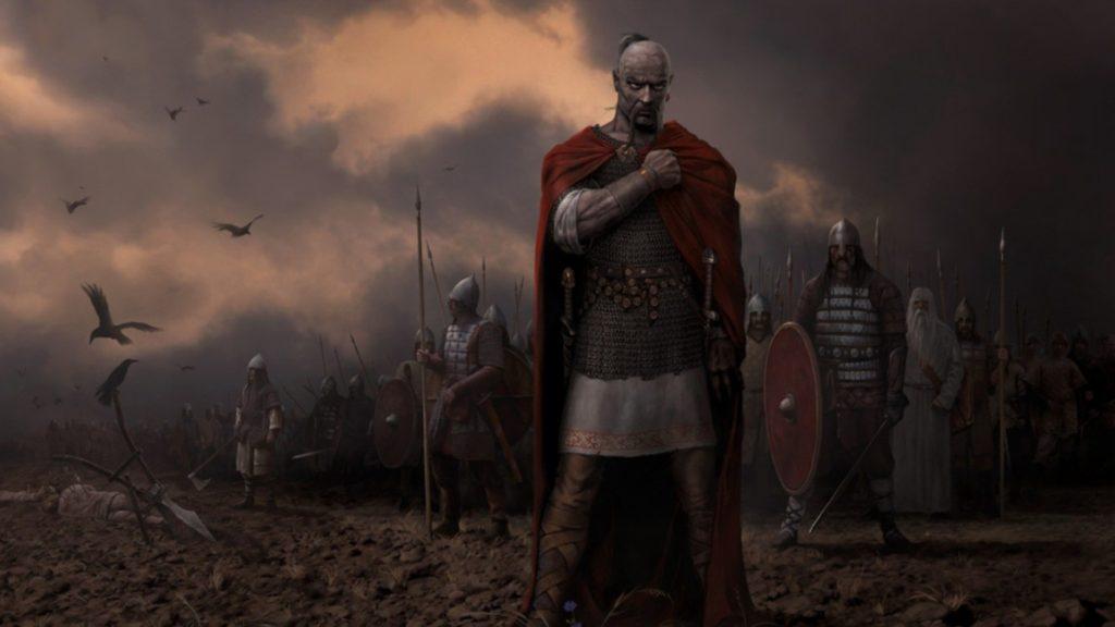Князь Святослав, варяг